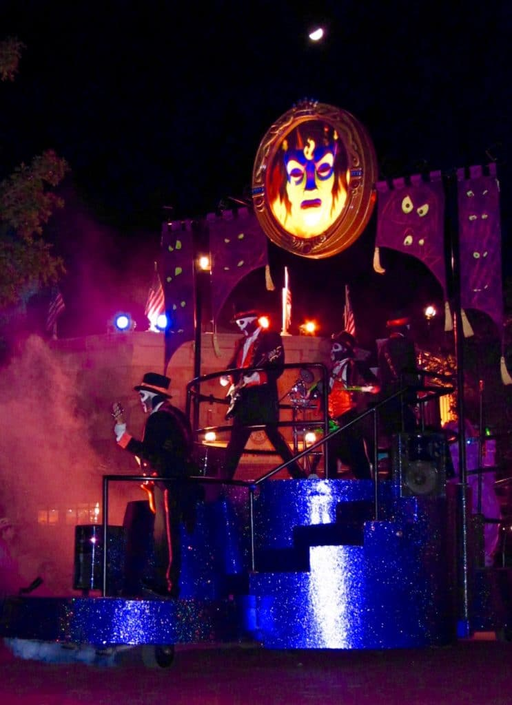 The Boo to You Parade at the Magic Kingdom's Mickey's Not So Scary Halloween Party