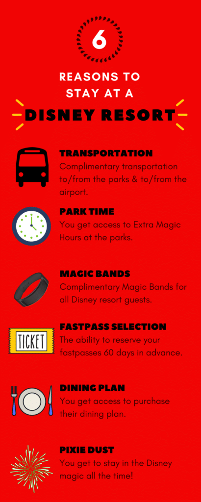 All the reasons why you should stay at a Disney World Resort