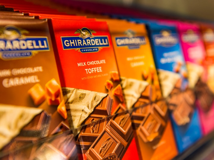 Get some free chocolate samples at Ghirardelli's Disney Springs - Disney World Freebies!!!