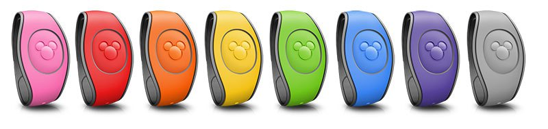 Color selection for Disney World Magic Bands