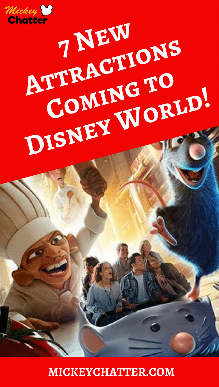 New Attractions and Rides Coming to Disney World Soon!
