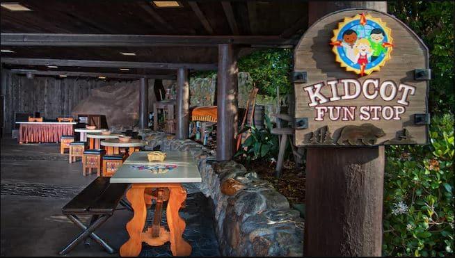Kidcot Fun Stop at Epcot