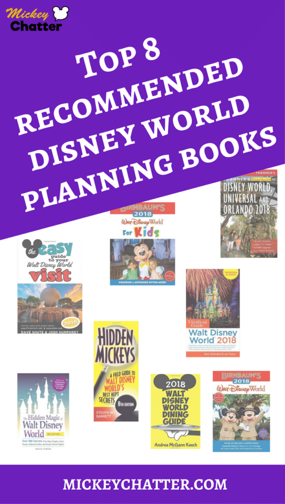 Top 8 Recommended Disney Planning Books