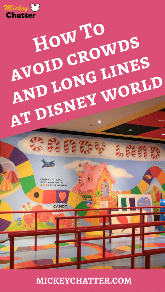How To Avoid Crowds and Long Lines at Disney World