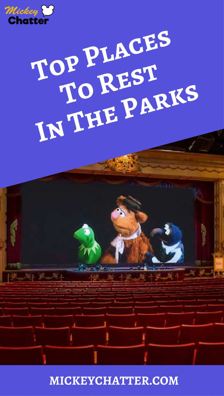 The best places to rest your feet at the Disney World parks!