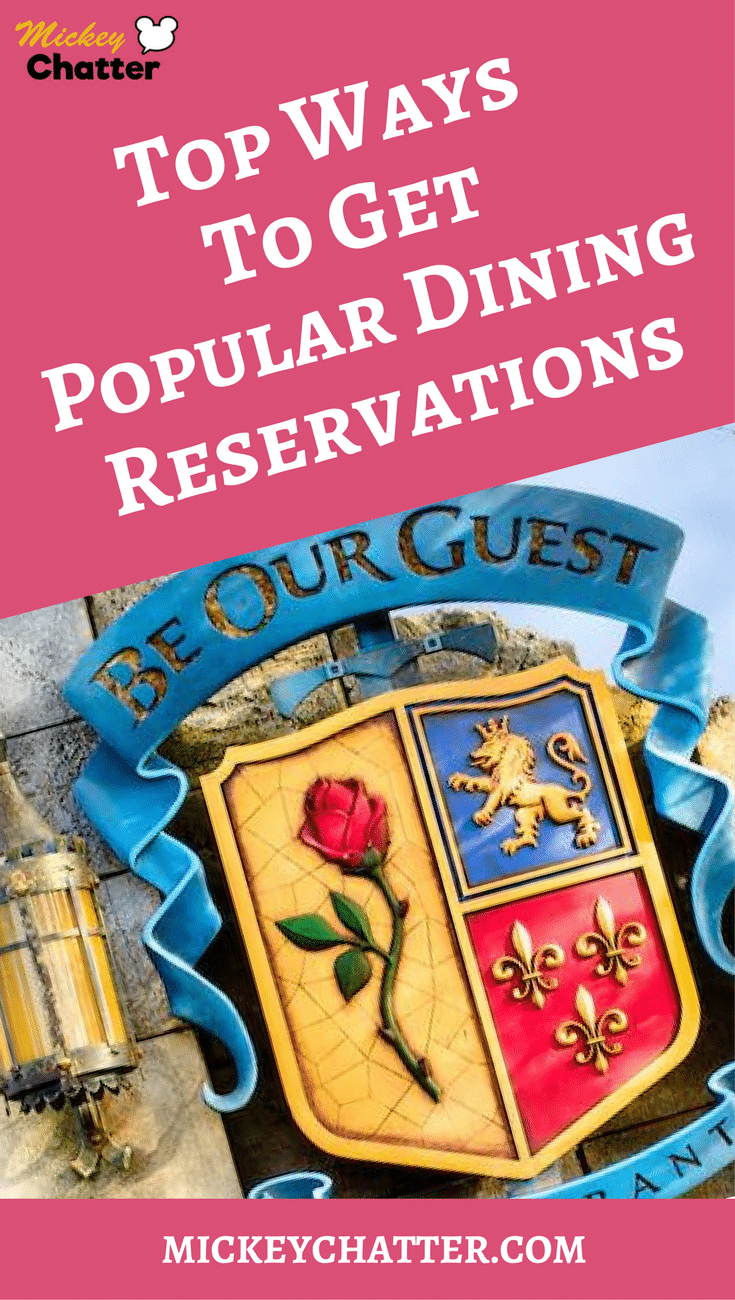 The secrets on how to get popular dining reservations at Disney World