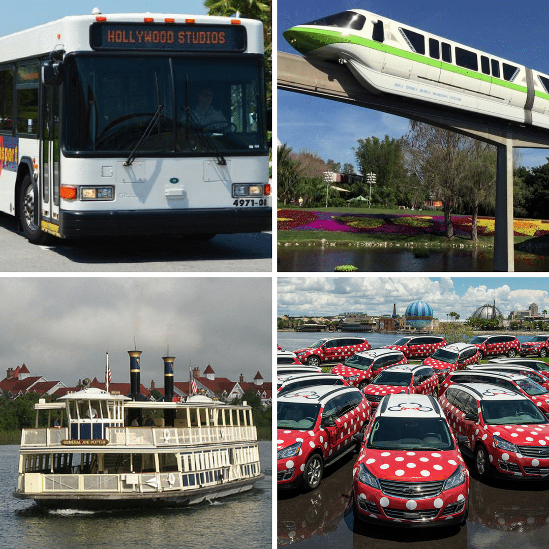 All the transportation options you have when staying at a Disney World resort