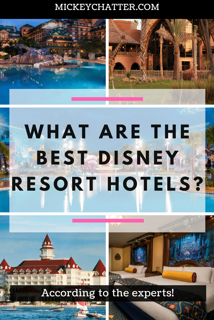 Find out which are the best Disney World hotels