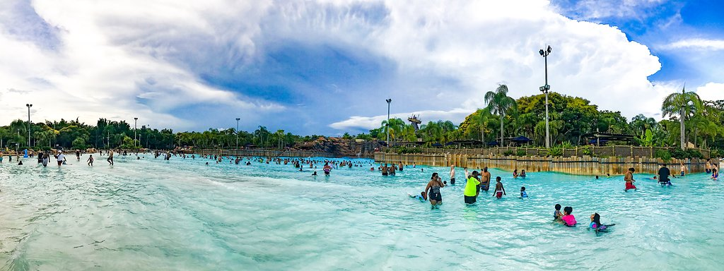 Typhoon Lagoon Wave Pool at Walt Disney World in Orlando