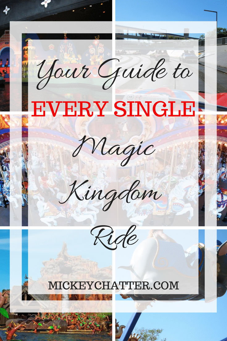 Your guide to EVERY SINGLE Magic Kingdom ride