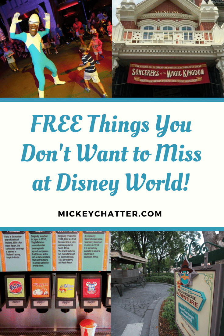 FREE at Disney World - don't miss out on these things!