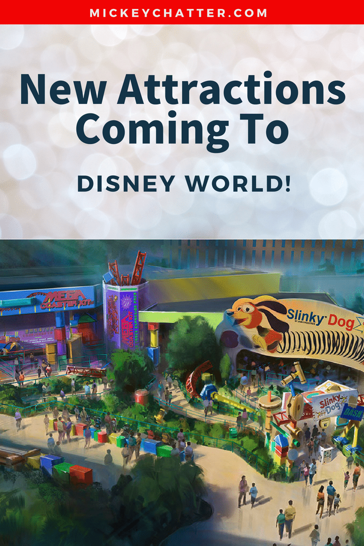 Get all the details on the new attractions coming to Disney World!
