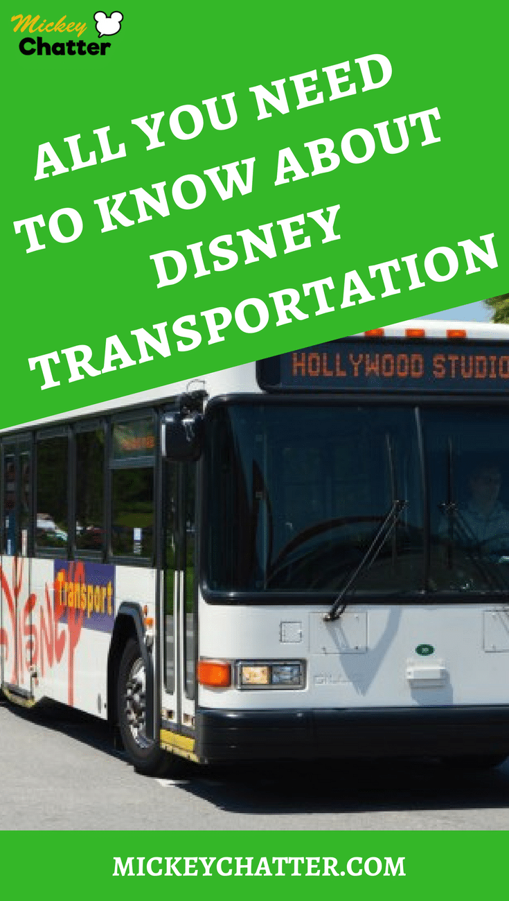 All you need to know about Disney World transportation
