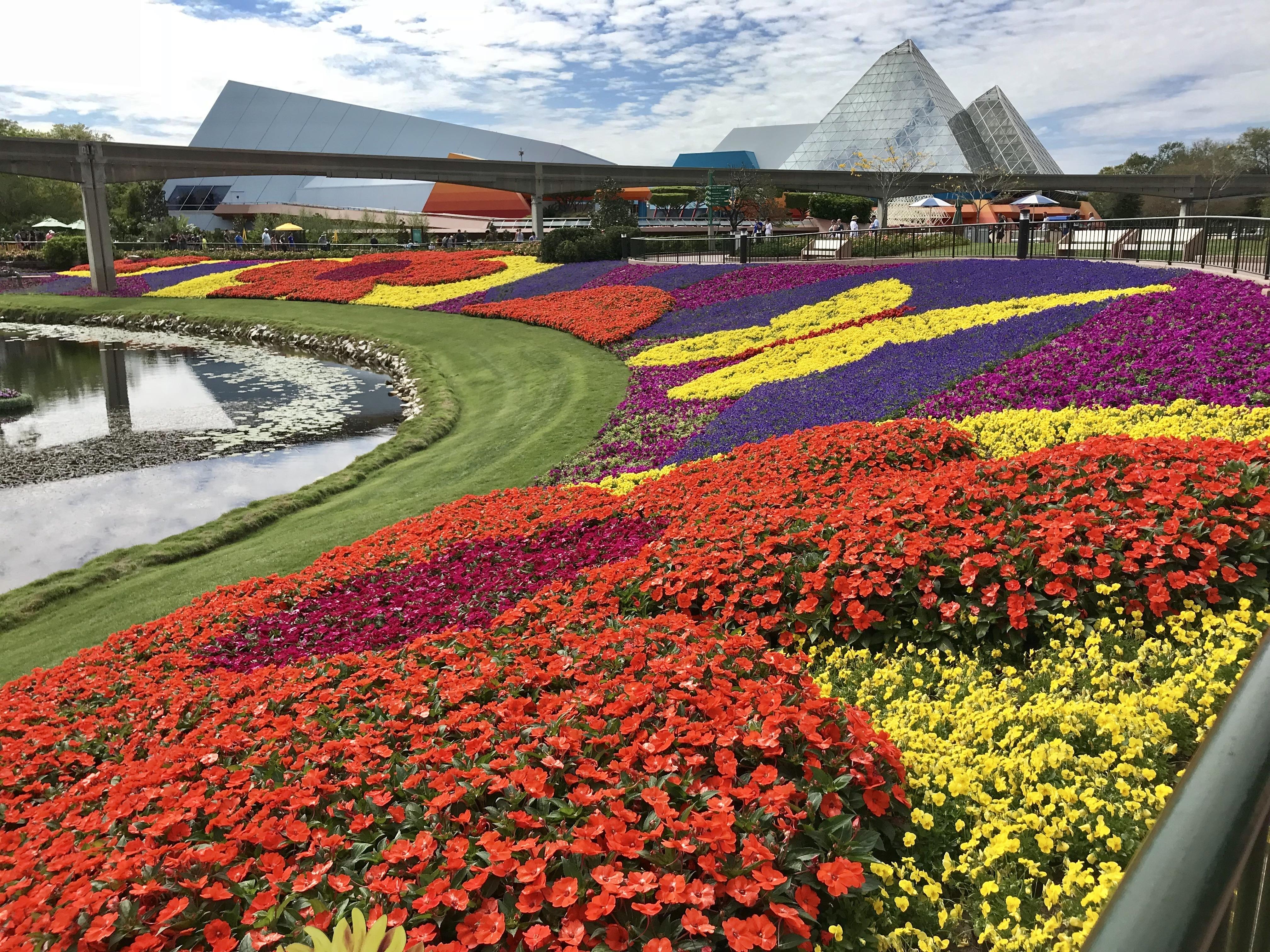 Epcot Future World Gardens