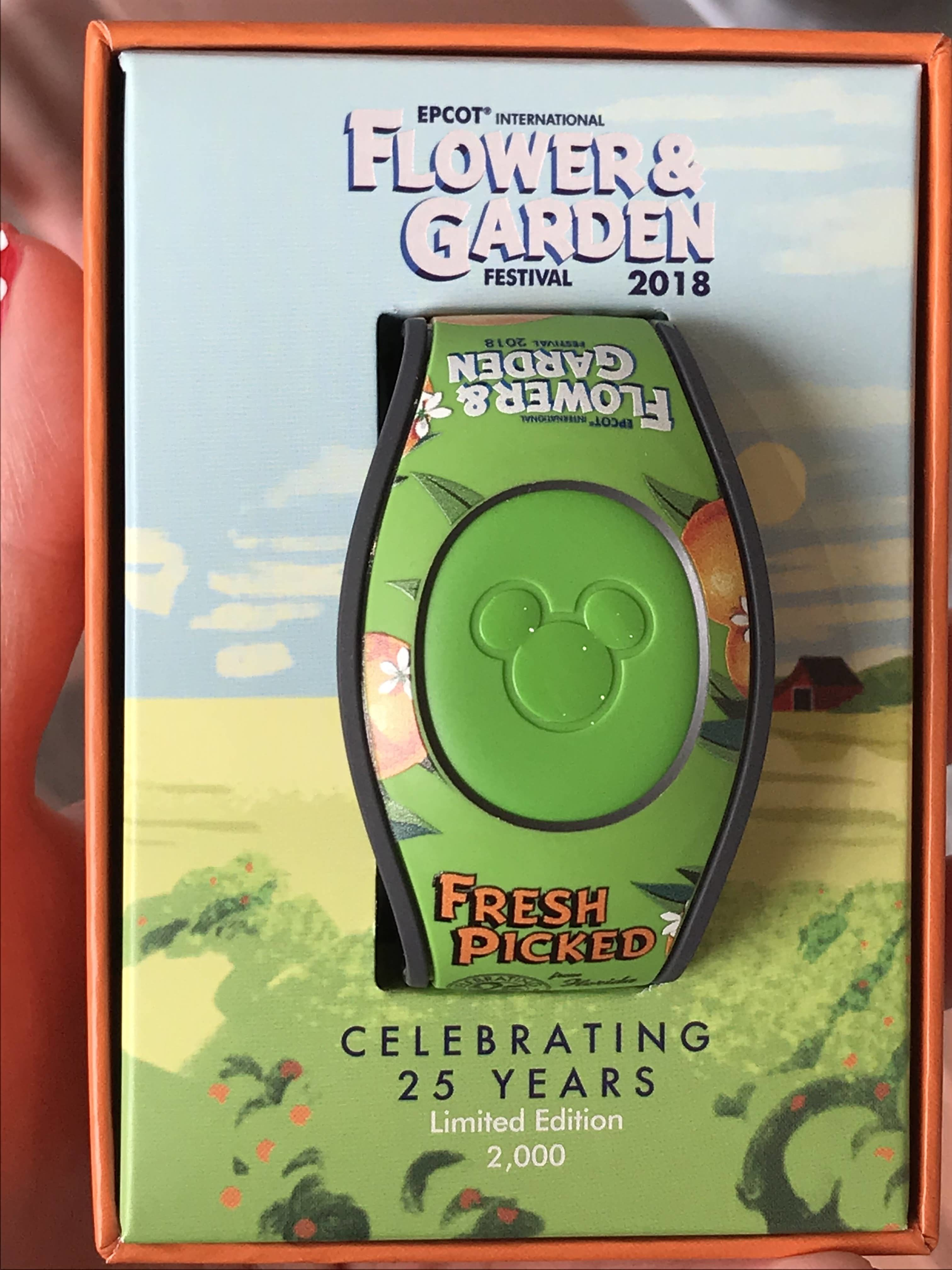 Flower and Garden 2018 Magicband