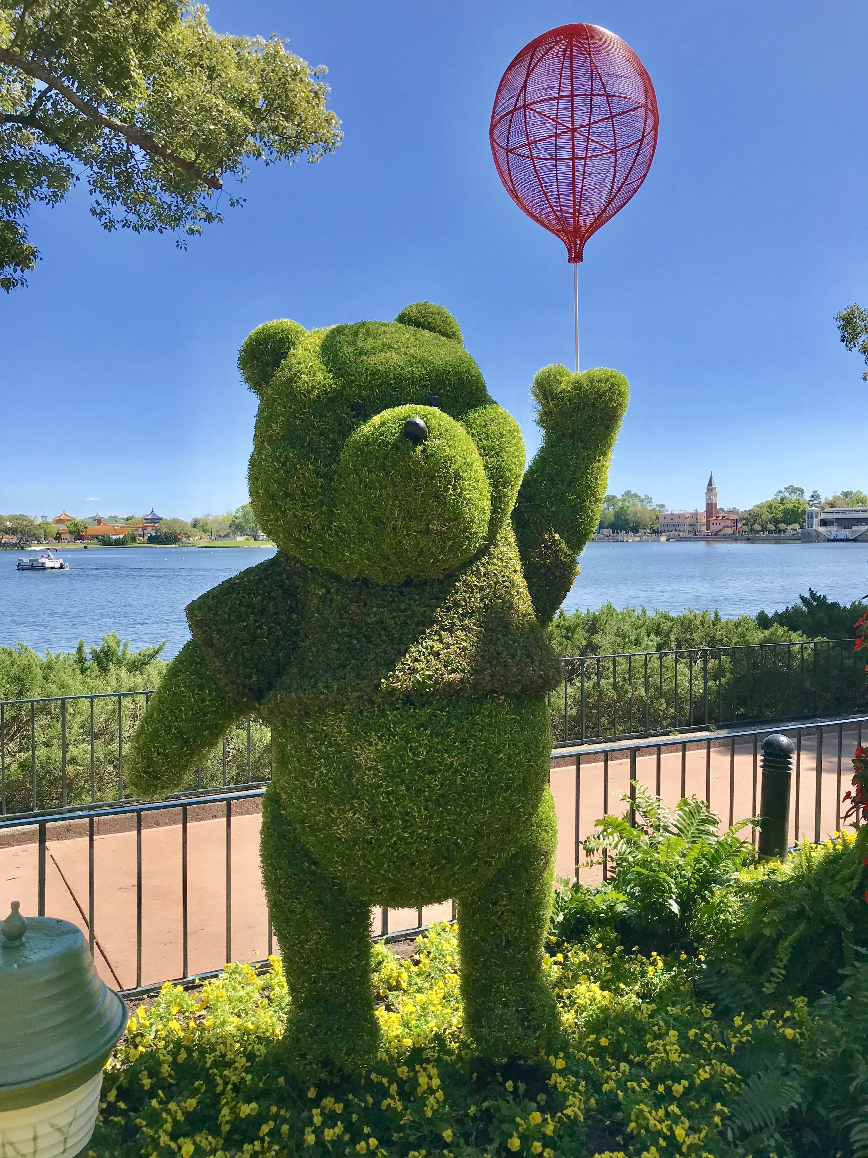Winnie the Pooh at Epcot's 2018 Flower and Garden Festival