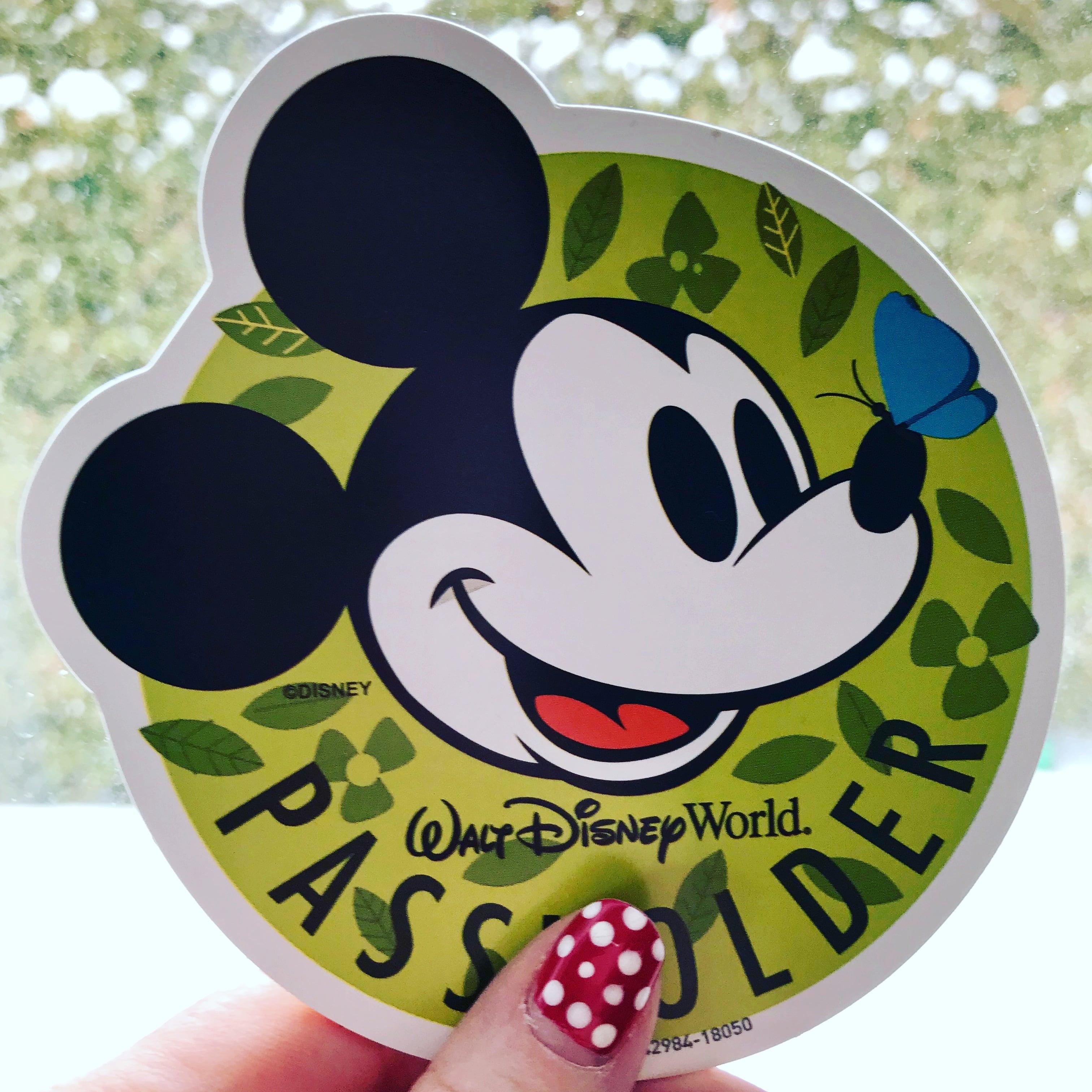 Disney Passholder Magnet from 2018 Flower & Garden Festival