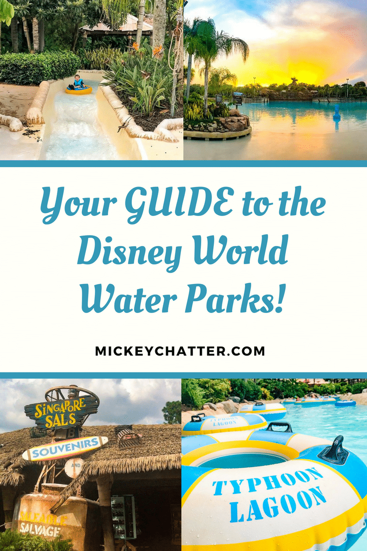 Disney World Water Parks Typhoon Lagoon and Blizzard Beach