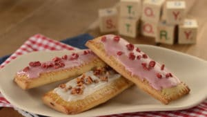 Raspberry Lunch Box Tarts at Hollywood Studios Woody's Lunch Box restaurant