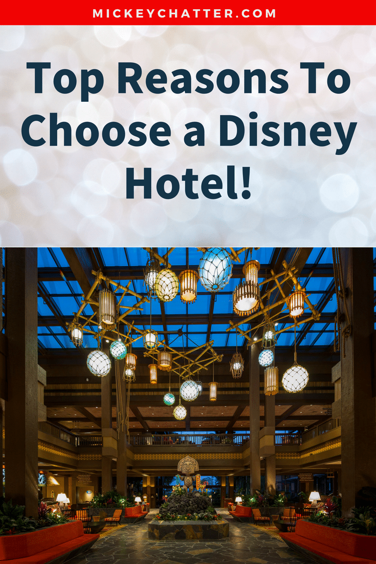My top reasons for choosing a Disney hotel! Learn all about the perks of staying on-site. #disneyworld #disneyvacation #disneyhotel