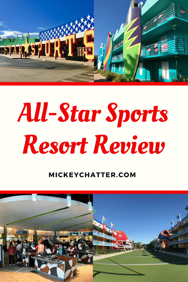 A complete review of Disney's value All-Star Sports hotel #disneyhotel #disneyworld #disneyvacation #allstarsports