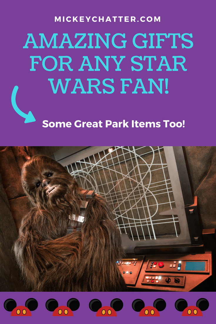 Great Star Wars gifts for Mother's or Father's Day. Some fun park items too! #disneyworld #disneyvacation #starwars