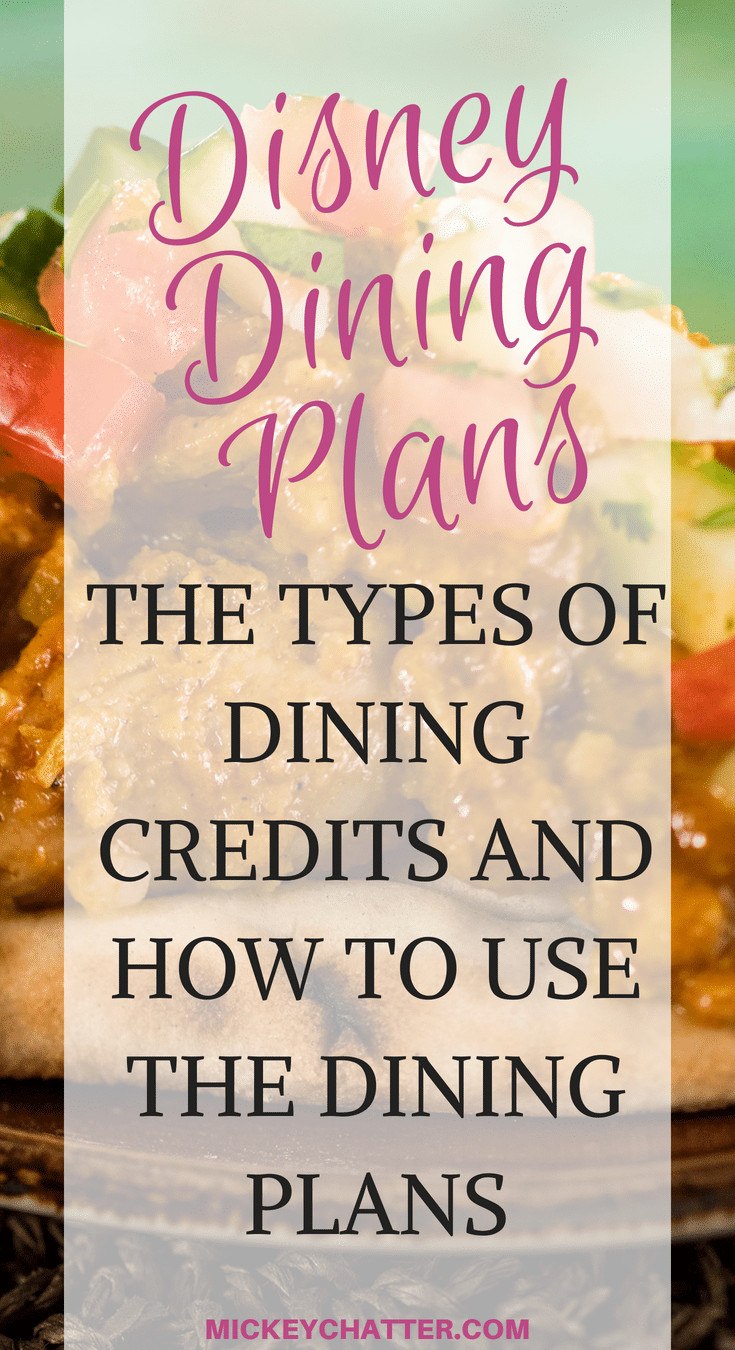 Learn how the dining plan works and about the different plans that Disney offers #disneydining #disneydiningplan #disneyworld #disneyvacation