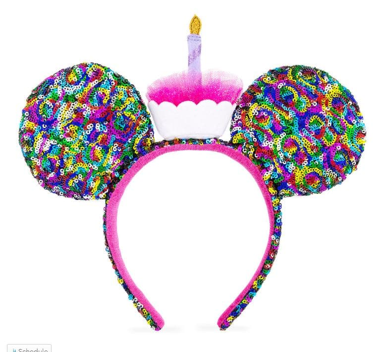 Disney birthday Mickey ear headband