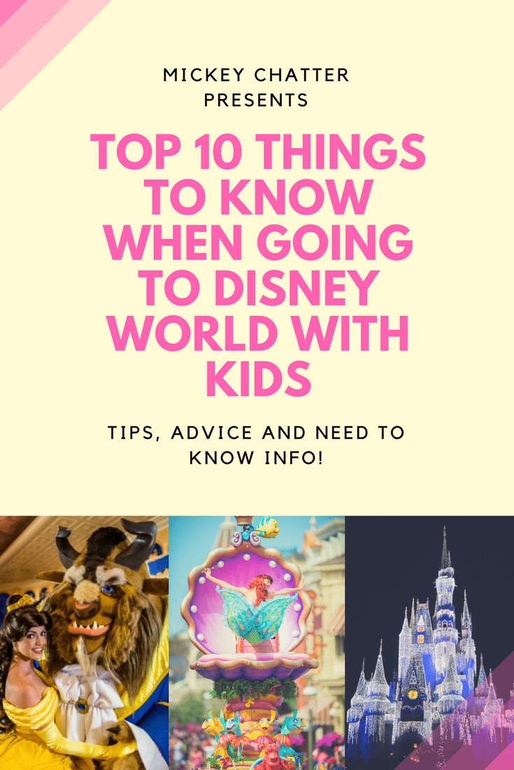 Disney World with Kids, tips and info on what you should know if travelling to Disney with kids #disneyworld #disneyvacation #disneywithkids