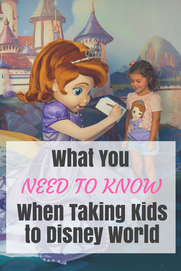 What you MUST know when going to Disney World with kids, be prepared before you go! #disneyworld #disneyvacation #disneyplanning