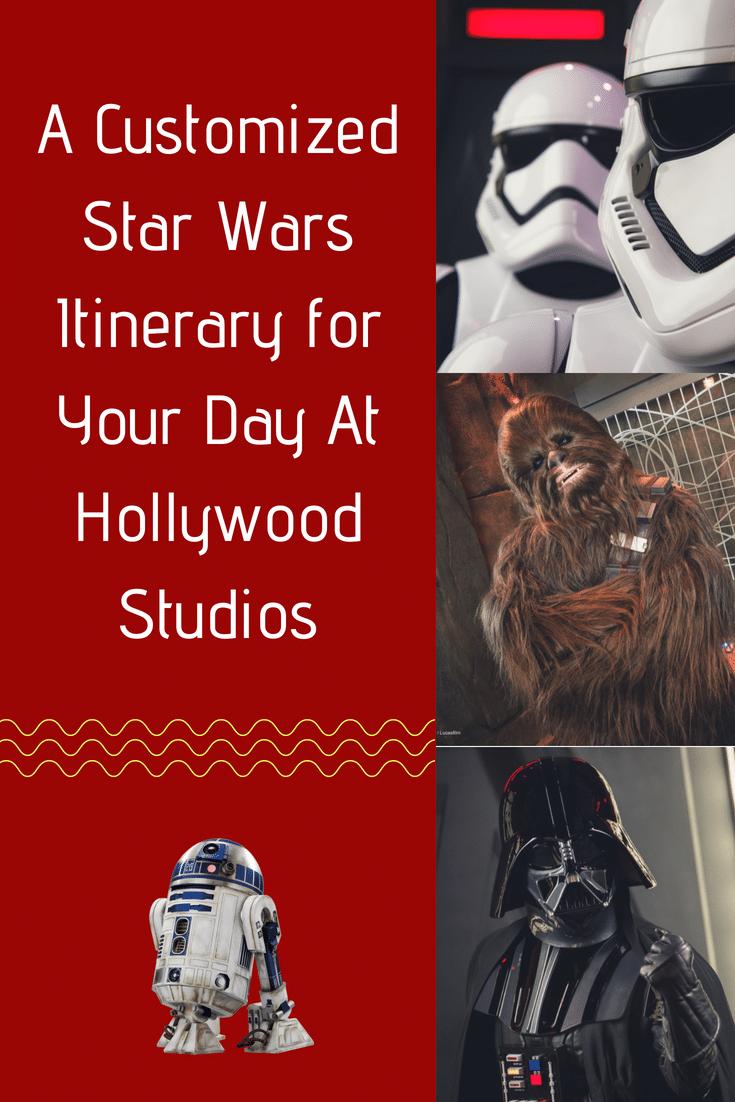 A Disney Star Wars Itinerary for your day at Hollywood Studios in Orlando #disneyworld #starwars #hollywoodstudios #disneytrip