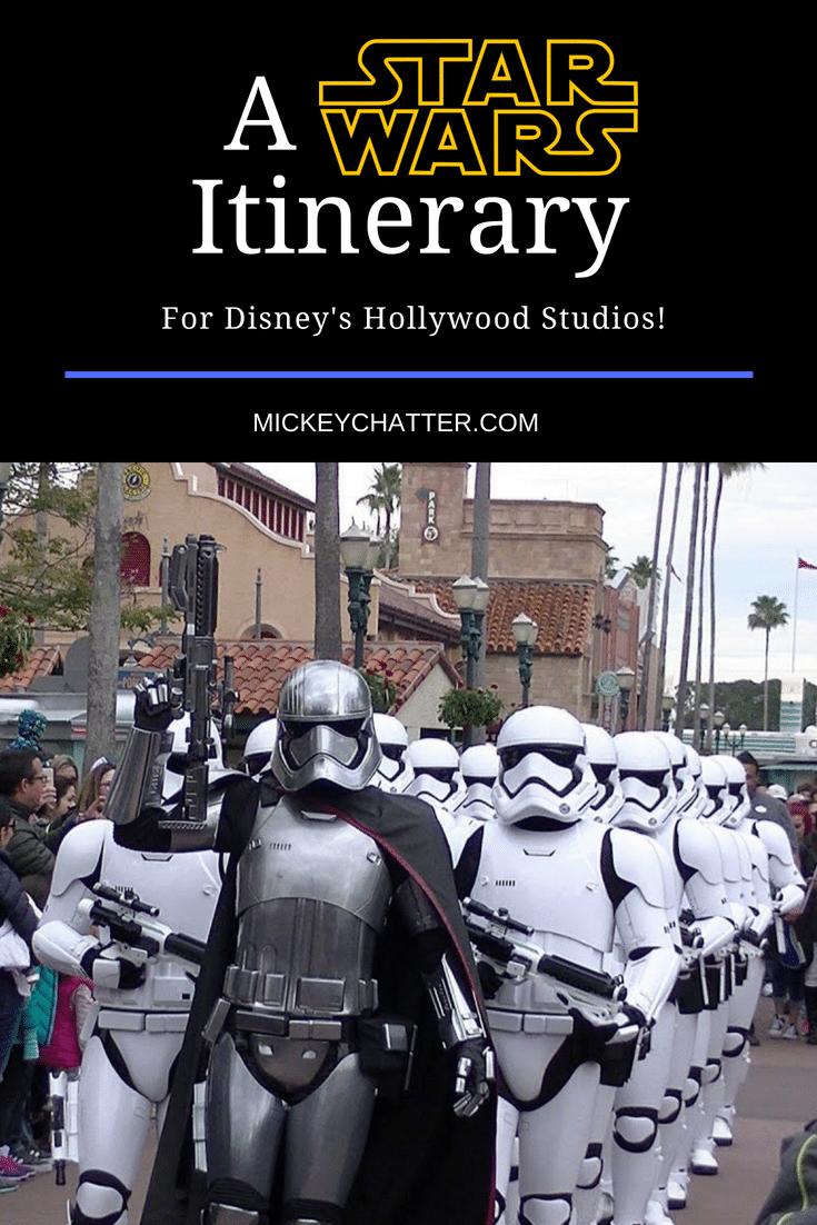 A Disney Star Wars itinerary for your day at Hollywood Studios in Orlando #starwars #disneyworld #disneyvacation #hollywoodstudios