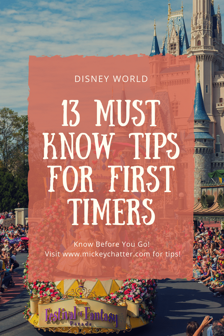 13 tips for your first time at Disney World, make sure you know this before you go! #disneyworld #disneytips #disneyplanning #disneyvacation