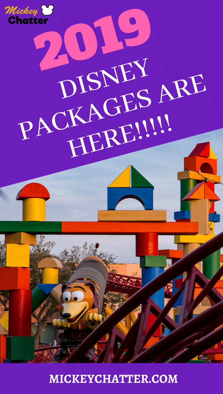 Don't miss out on the 2019 Disney packages! They are ready to be booked and are some room categories are selling out already! #disneyworld #disneyvacation #disney2019