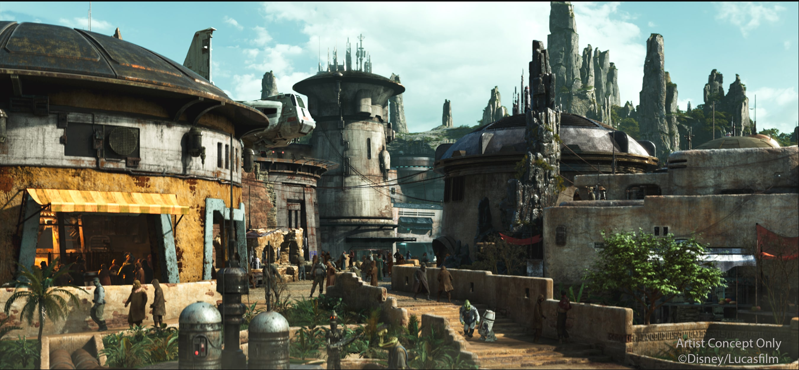 Star Wars Galaxy's Edge coming to Hollywood Studios in late Fall 2019 #disneyworld #hollywoodstudios #starwars #galaxysedge