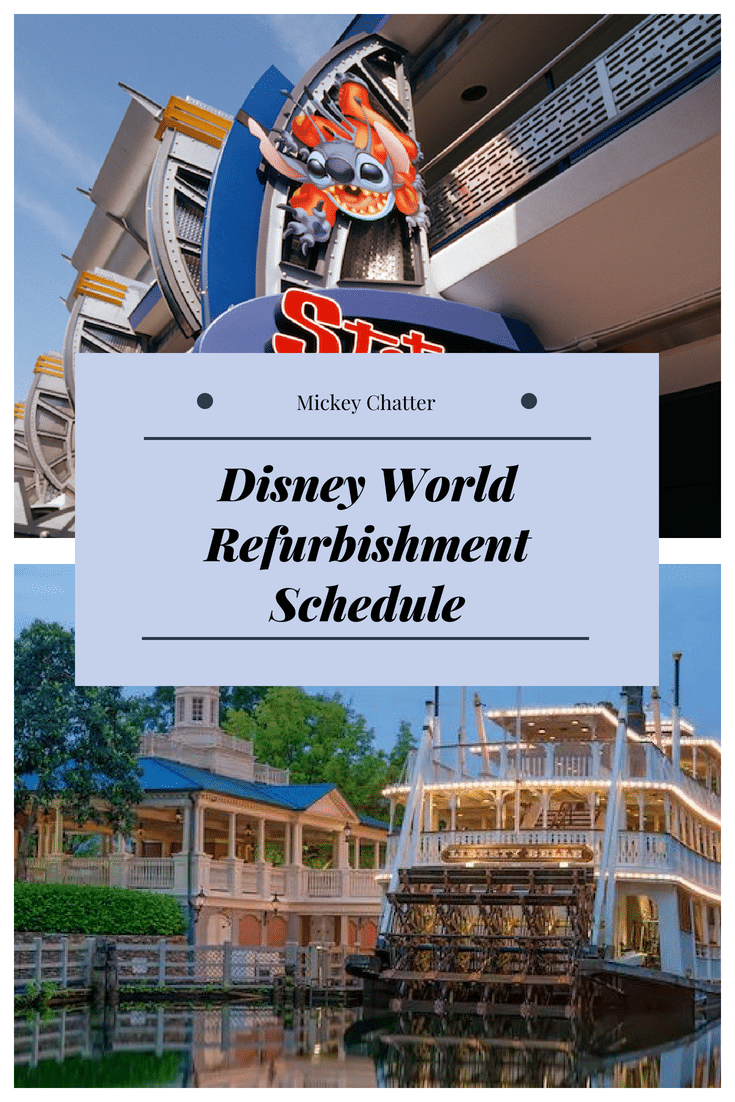 Disney World refurbishment schedule, know before you go! #disneyworld #disneyvacation #disneyplanning