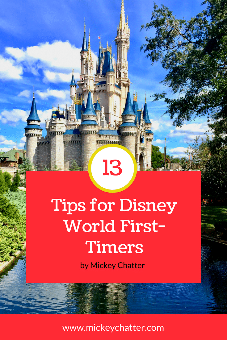 13 must know tips for Disney World first-timers! #disneyworld #disneyvacation #disneytrip #disneytips