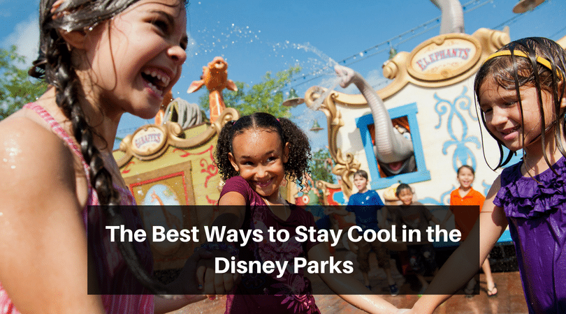 How to stay cool in the Disney parks #disneyworld #disneyvacation