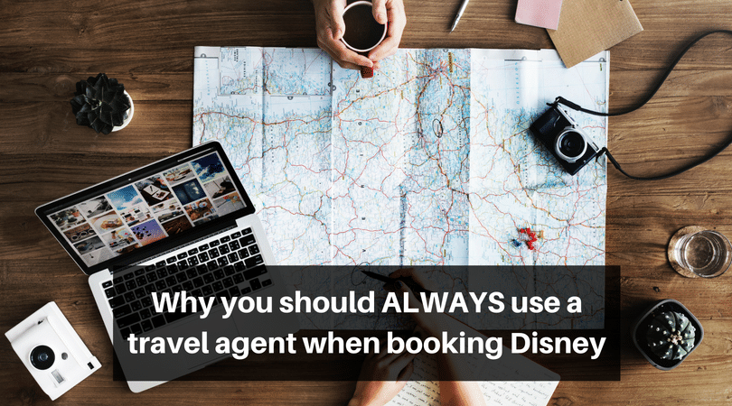 Why you should ALWAYS use a travel agent to book Disney, how it benefits you! #disneyworld #disneyplanning #travelagent