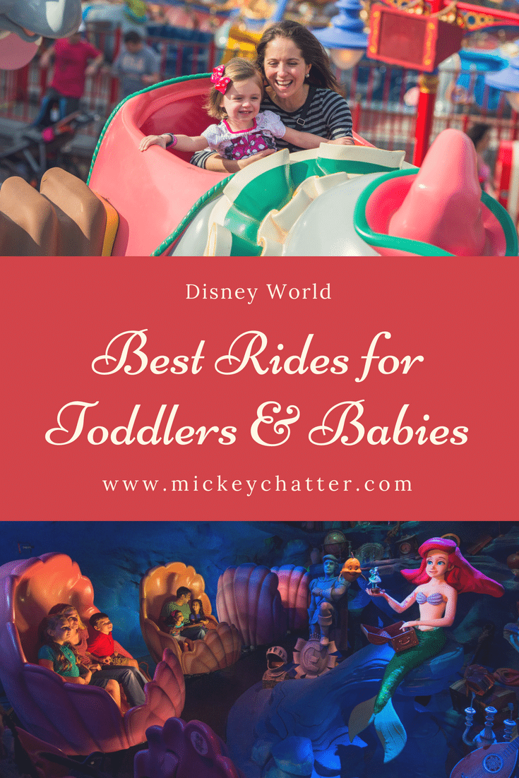 Best rides for toddlers & babies at all Disney World theme parks! #disneyrides #disneyworld #disneytrip #disneyvacation #disneyplanning