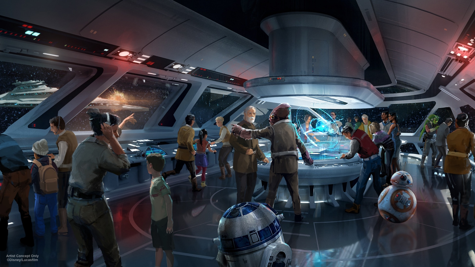 Disney Star Wars hotel with complete immersive experiences