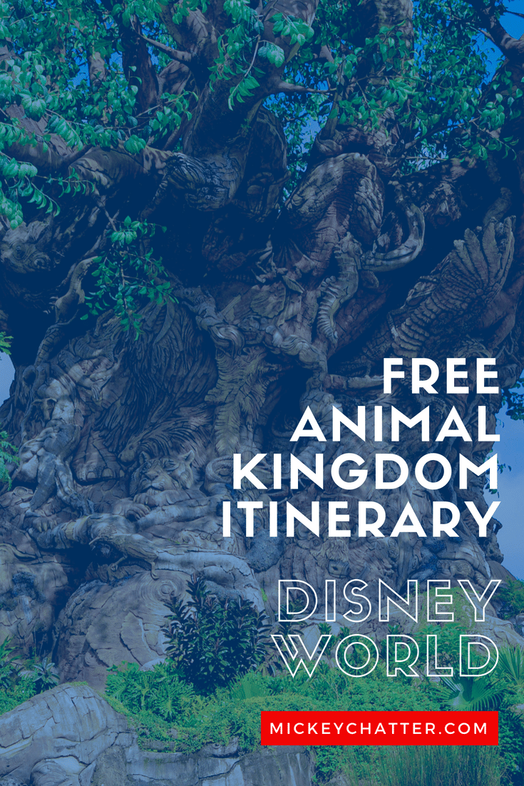 FREE Animal Kingdom itinerary for your planning needs #disneyworld #animalkingdom #disneytrip #disneyvacation #disneyplanning