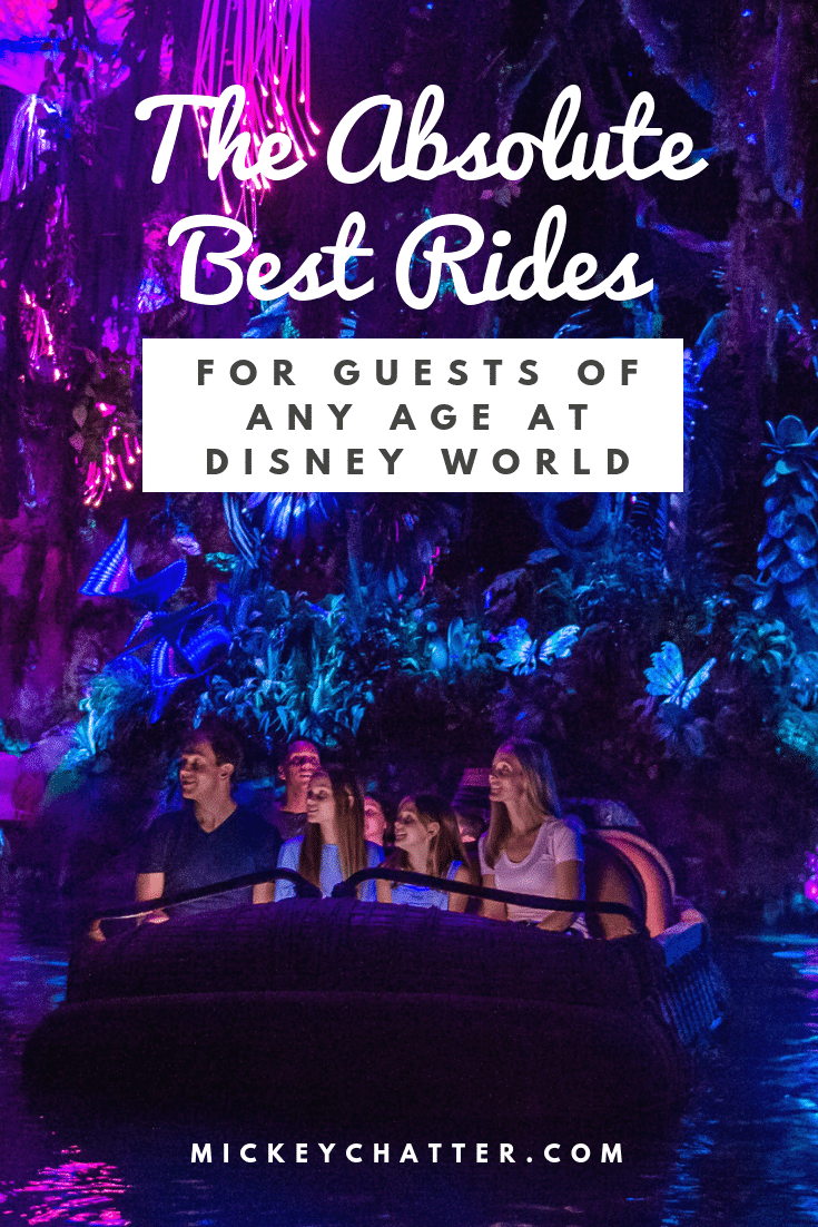 The best rides at Disney world for guests of any age! #disneyworld #disneyrides #disneytrip #disneyvacation