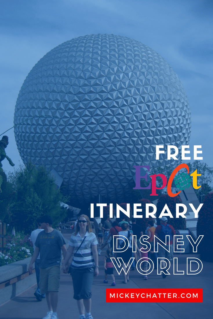 FREE Epcot itinerary to help you plan out for your day #disneyworld #epcot #epcotitinerary #disneytrip #disneyplanning #disneyvacation