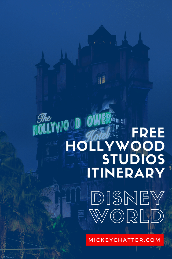 FREE Hollywood Studios itinerary, touring plan that includes the new Toy Story Land! #disneyworld #hollywoodstudios #disneyplanning #disneytrip #disneyvacation