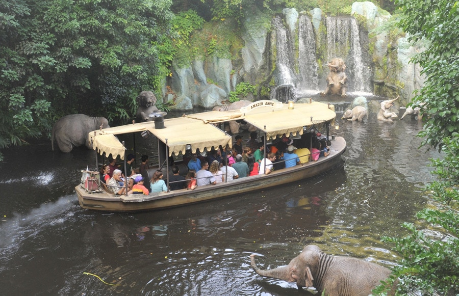 Jungle Cruise ride at Magic Kingdom