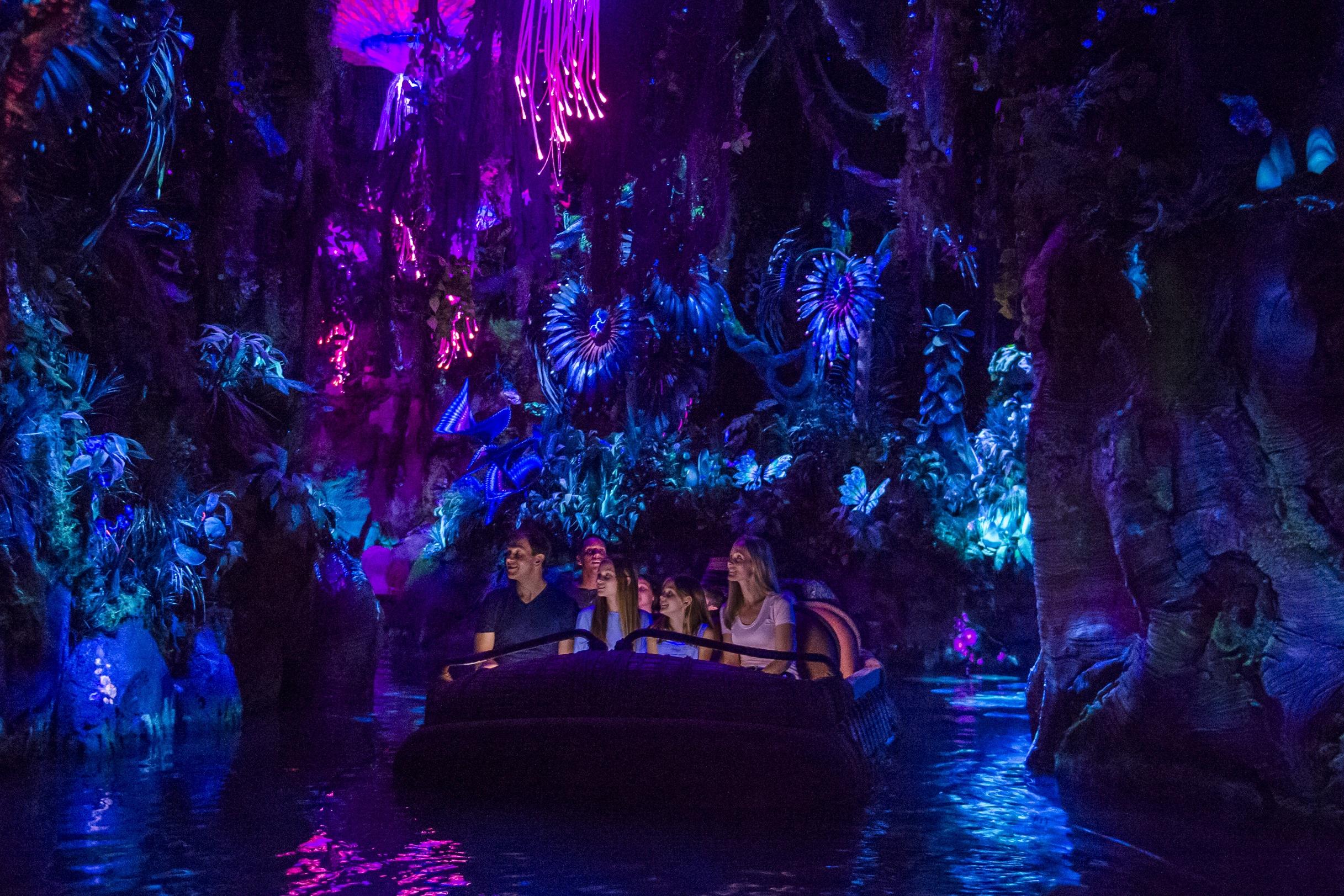 Na'vi River Journey in Pandora at Animal Kingdom
