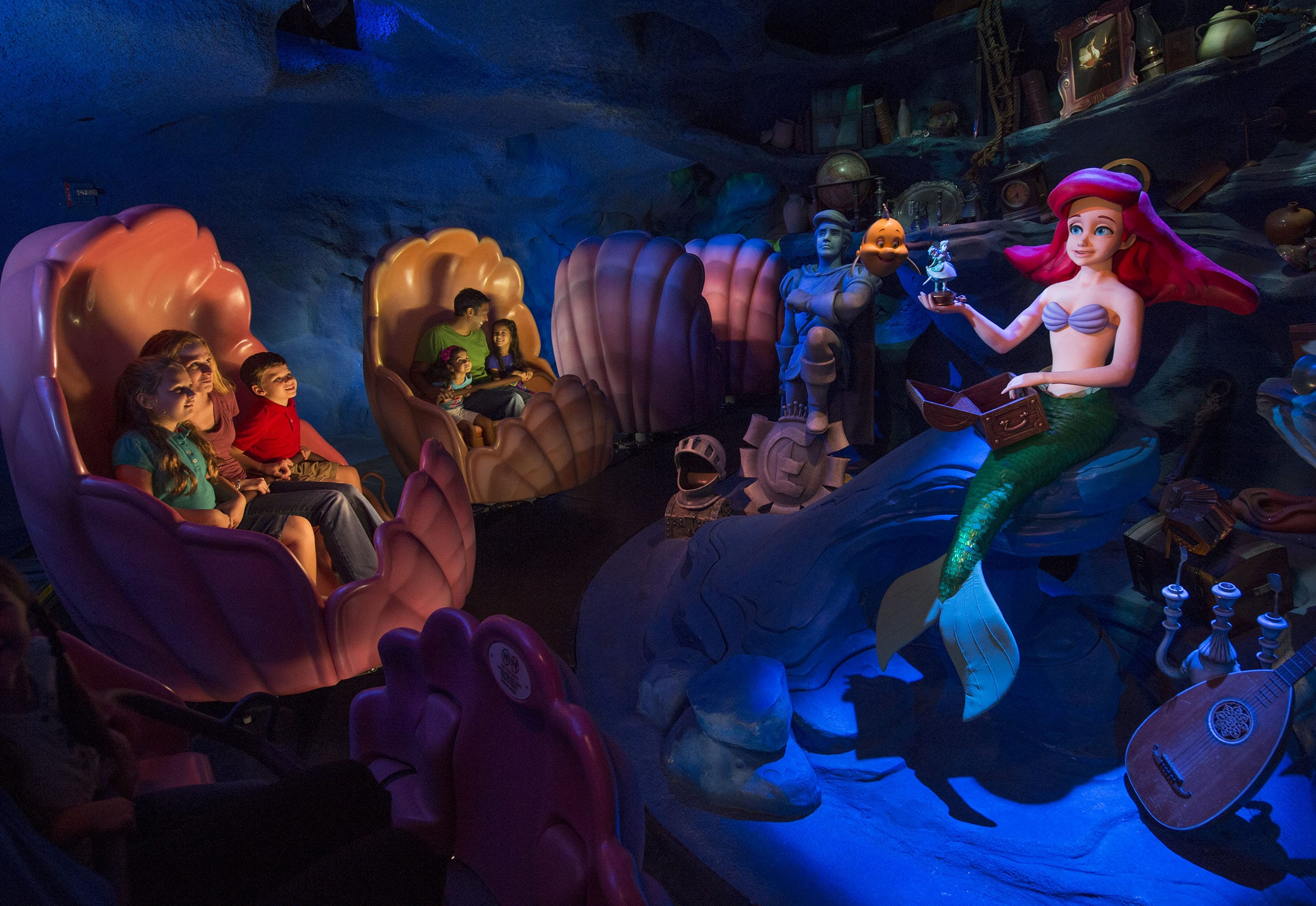 Under the Sea - Voyage of the Little Mermaid at Magic Kingdom