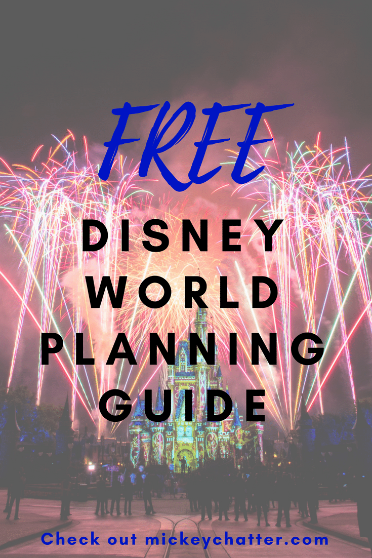 FREE Disney World Planning Guide - step-by step. #disneyworld #disneyvacation #disneytrip #disneyplanning