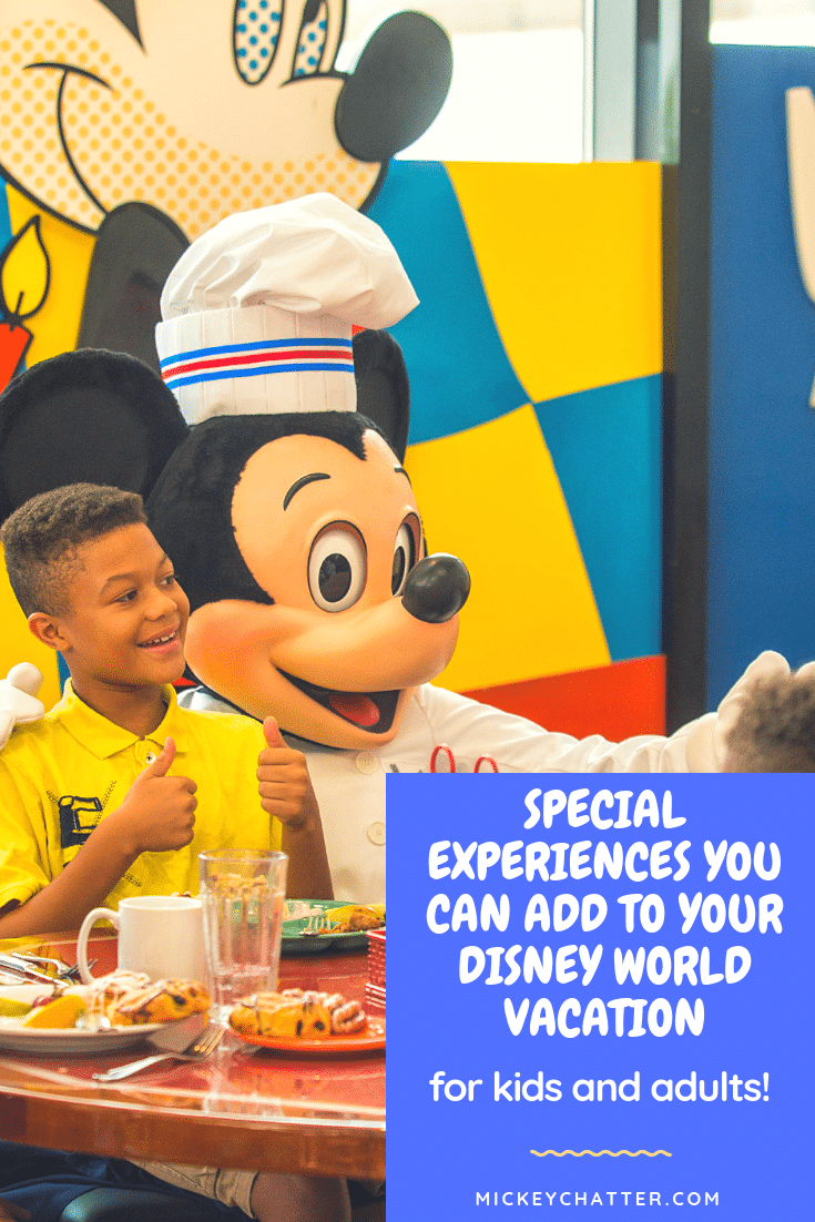 Disney World splurges you can add to your next vacation to make it even more magical! #disneyworld #disneyplanning #disneytrip #disneyvacation